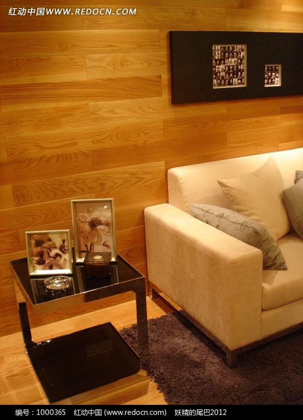 客厅区 沙发 背墙 装饰矮柜 摆饰 家居空间 家装设计 室内装饰 室内设计 高清图片
