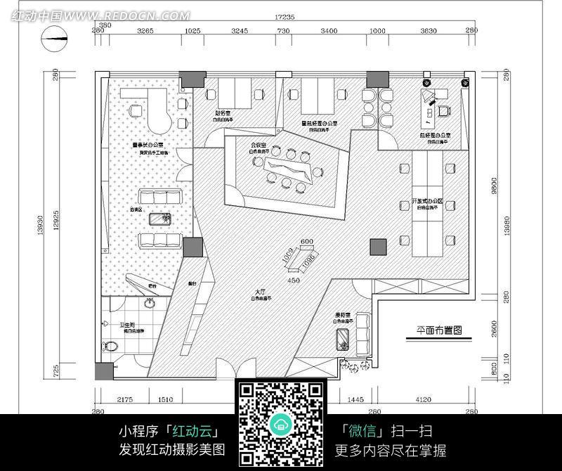 楼房平面布置图