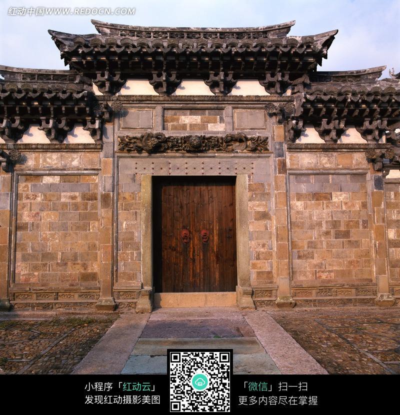 中式古典门楼图片