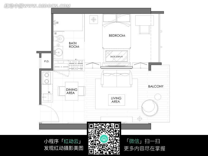 房间布局规划平面图图片