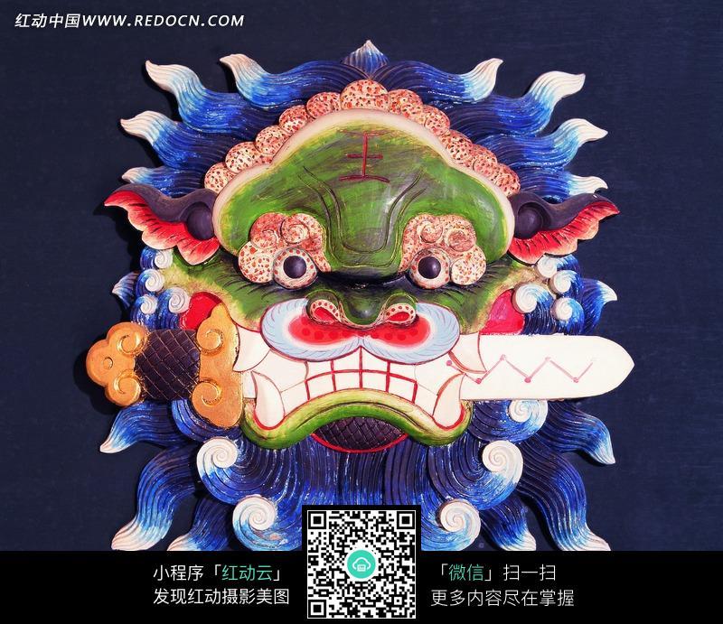 素材下载 图片素材 文化艺术 宗教信仰 > 奇怪的面具图片图片
