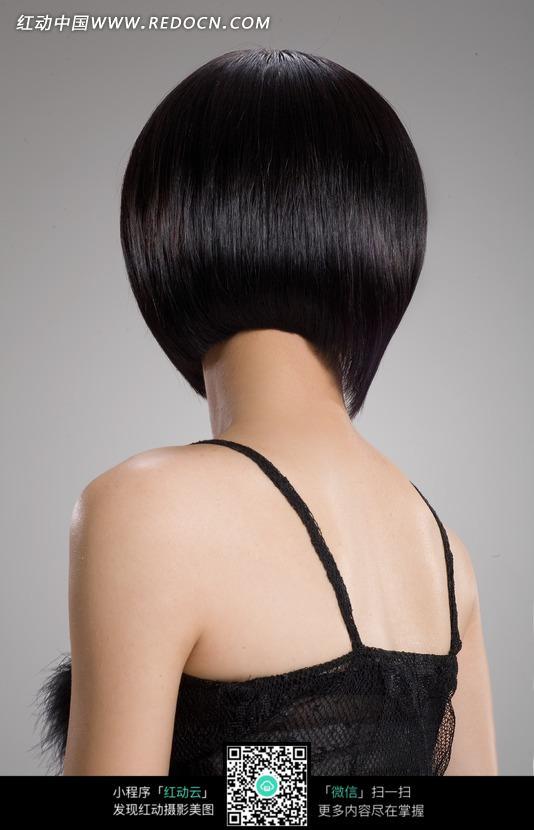免费素材 图片素材 人物图片 女性女人 沙宣发型设计背面特写图片  请