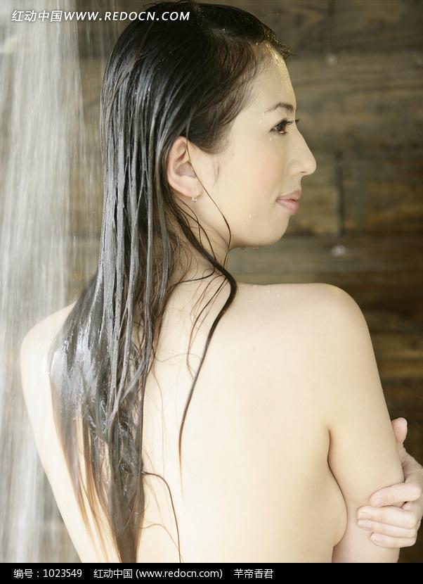 淋浴的裸体美女图片 人物图片素材|图片库|图库