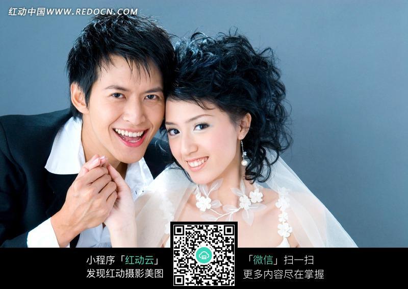 美女帅哥婚纱照图片 新人情侣图片