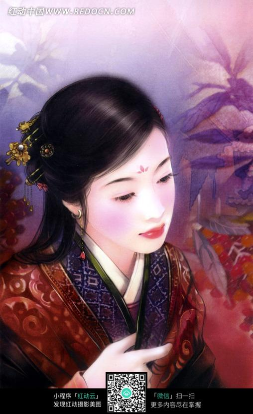 ps手绘古装美女_女性女人图片