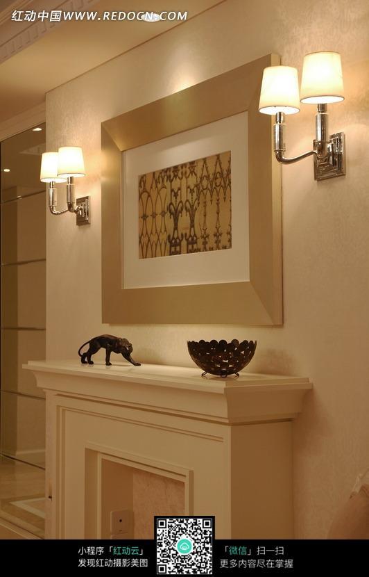 客厅欧式壁龛效果图图片