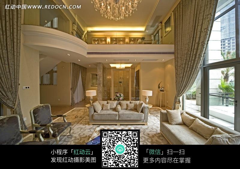 大气豪华的欧式别墅效果图图片图片