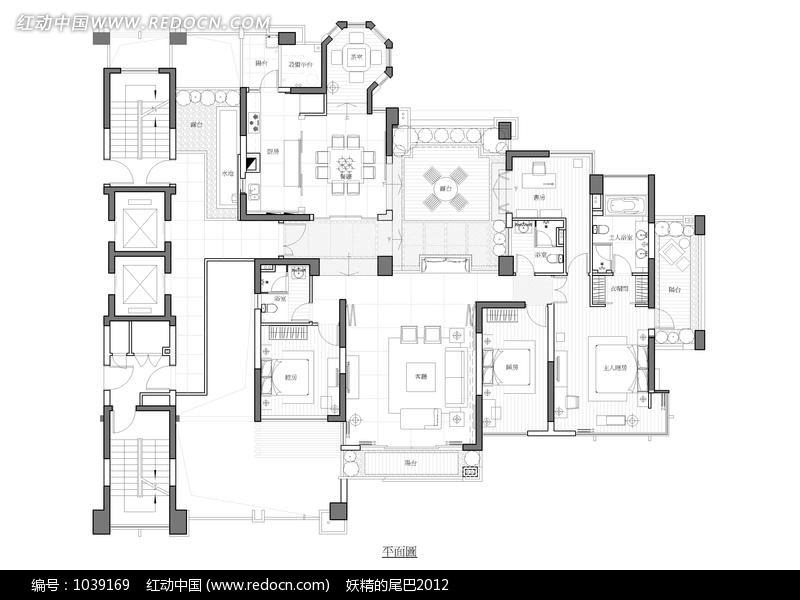 免费素材 图片素材 环境居住 室内设计 户型结构图  请您分享: 素材