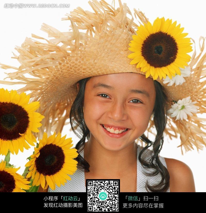 jpg 女孩 向日葵  可爱  儿童图片 儿童照片 人物素材 摄影图片