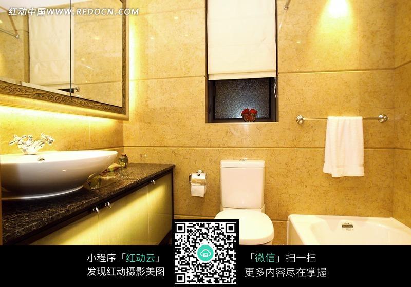 家庭浴室装修效果图图片