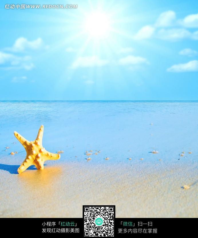 唯美海边风景图片