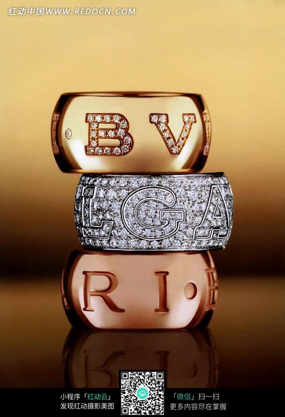 创意钻石戒指