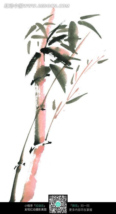 竹子写意画图片