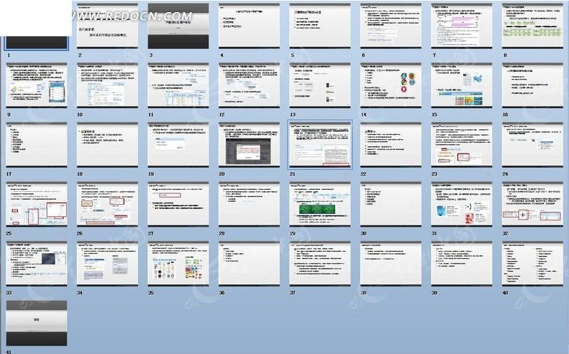 腾讯CEO马化腾 产品设计与用户体验GoodPPT模板素材免费下载 编号