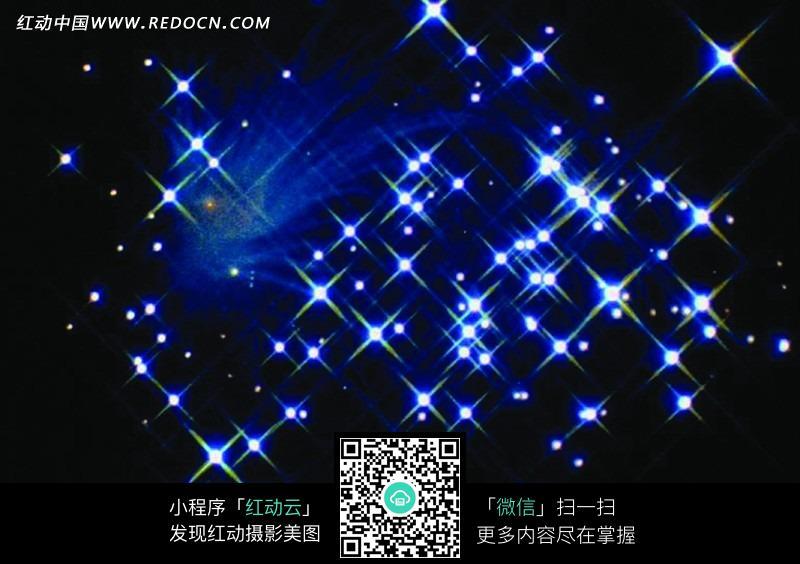 宇宙星空中的星星图片