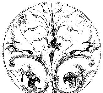 欧式圆形图案矢量素材图片图片