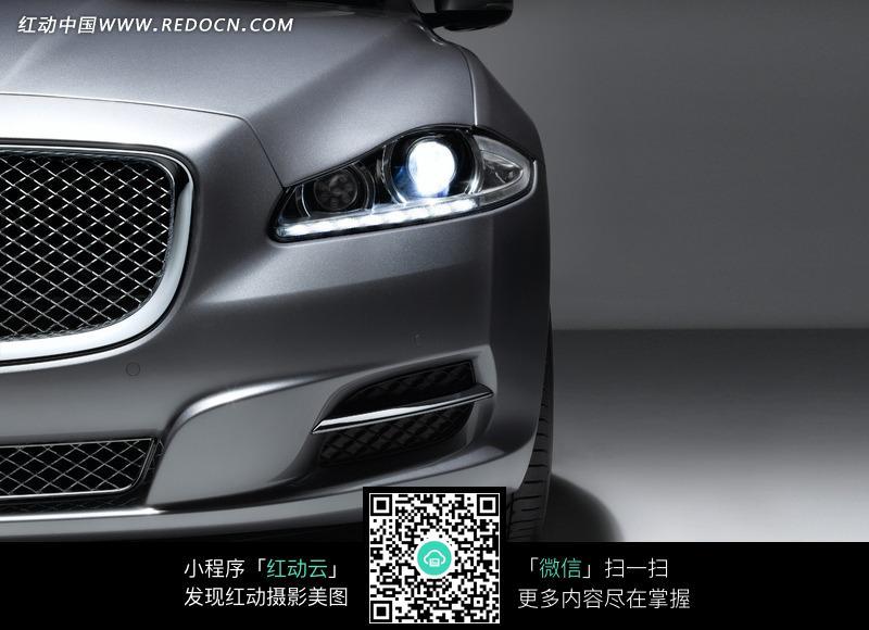 jaguar xj捷豹汽车前大灯图片高清图片