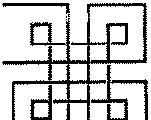 直线构成的格子状图案图片