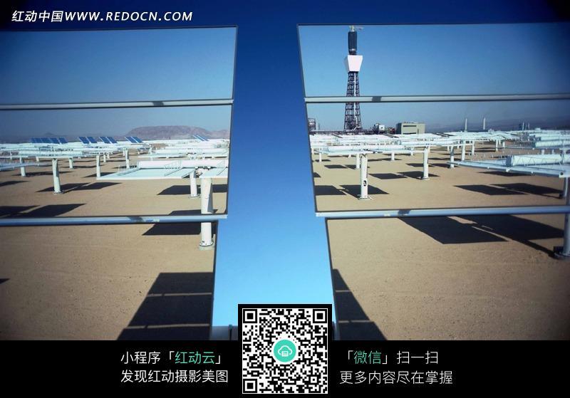 太阳能发电站图片