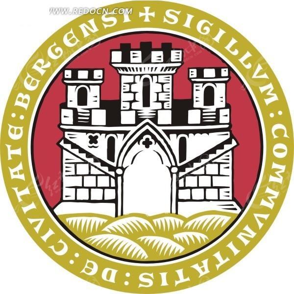 国外矢量大学logo素材