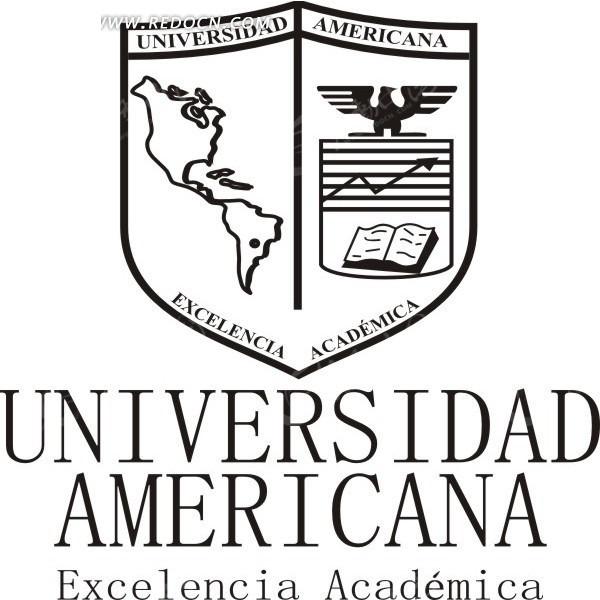 美国大学logo矢量模板图片
