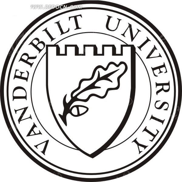 vanderbilt university范德比尔特大学logocdr素材()