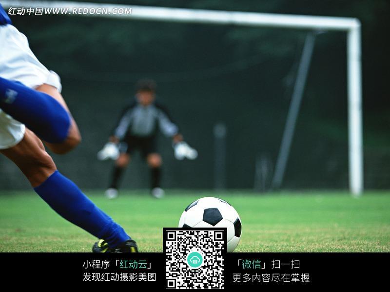 足球射门_足球射门的男人图片编号1145991_体育运动