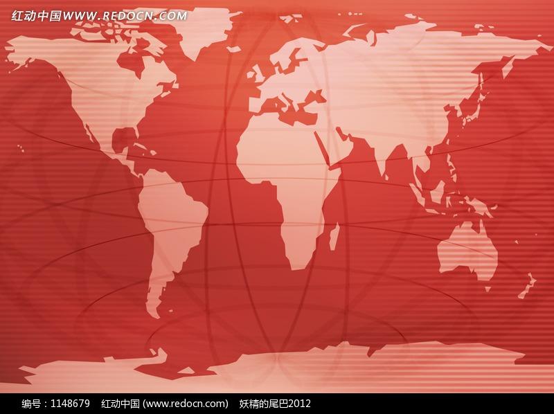 红色背景素材高清图1;
