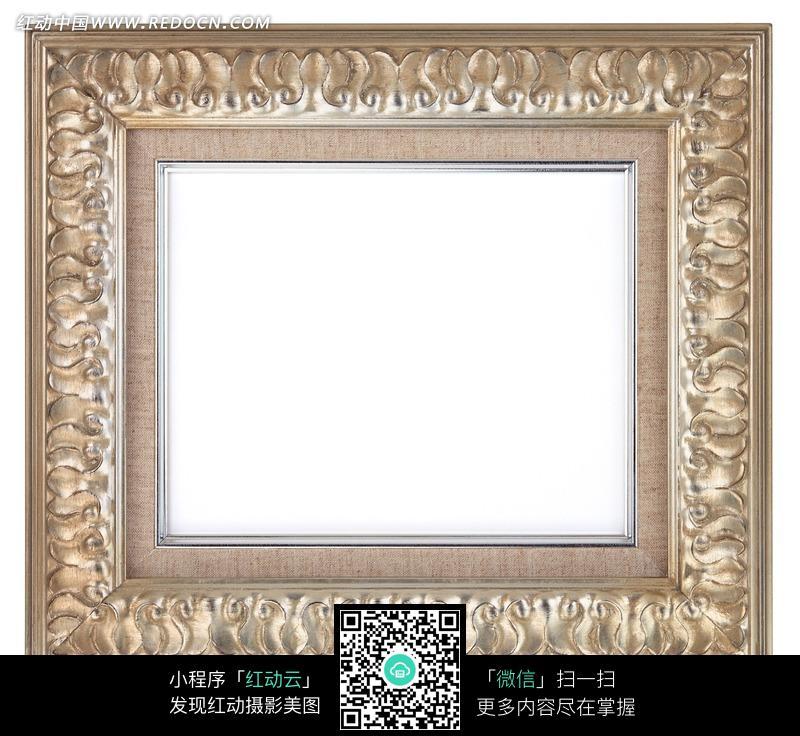 免费素材 图片素材 背景花边 边框相框 欧式雕花直角相框