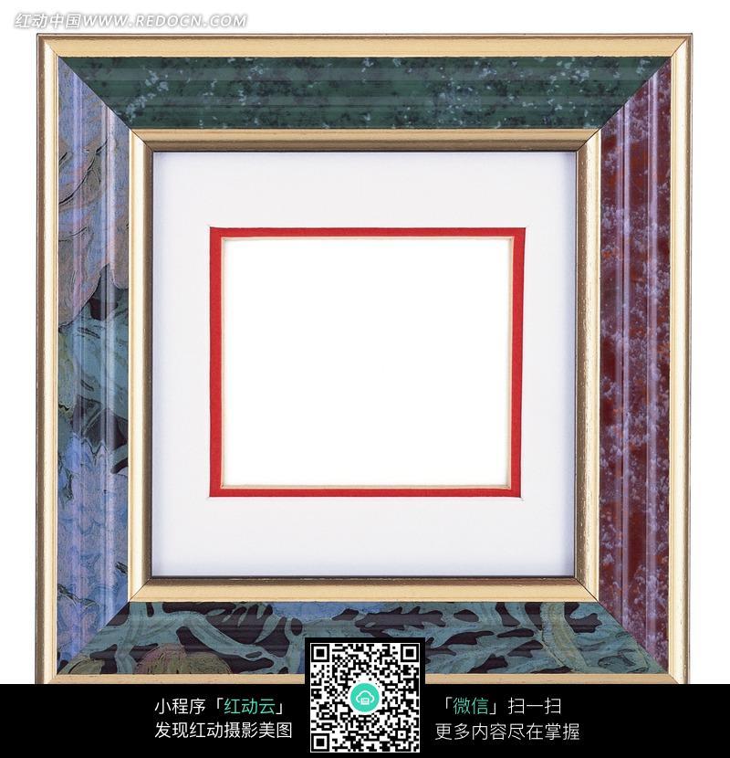 欧式风格金边相框图片