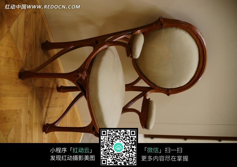 欧式木制圆靠背椅子图片图片