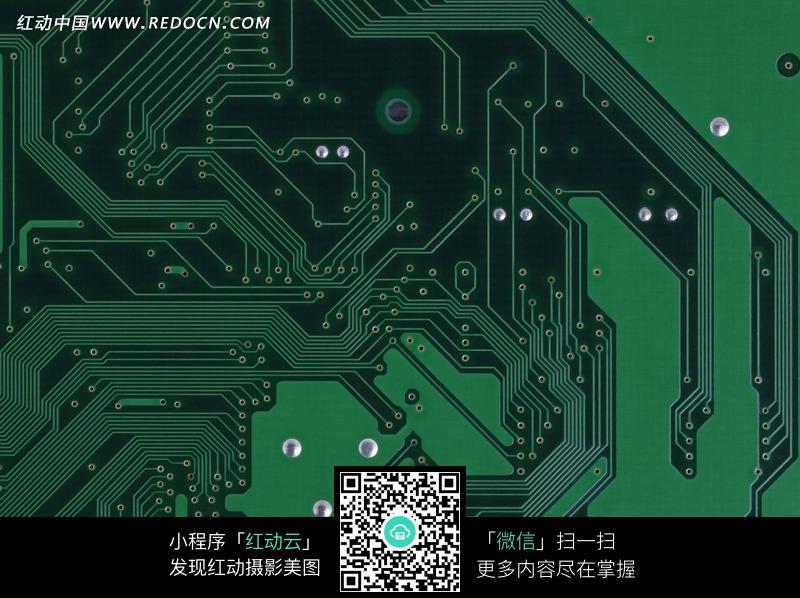 单面电路板素材_通讯科技图片
