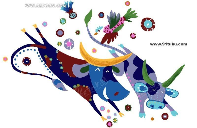 牛的内脏结构图