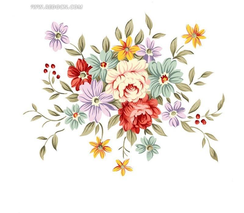 花瓣网人物手绘素材