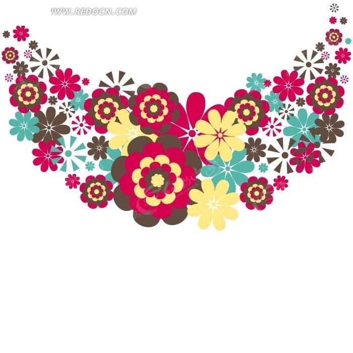 海绵纸贴画图片花朵