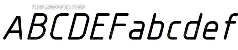 服饰英文字体设计 英文字体艺术字 26个英文字母字体设计 英文字体图片