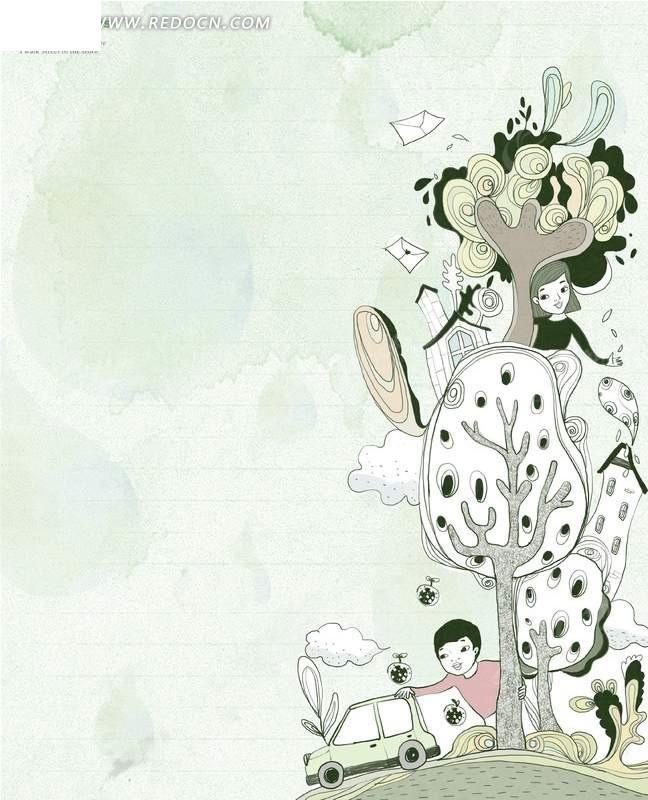 景观雕塑手绘插画-长沙黄 景观雕塑手绘插画-浏阳河 小动物手绘稿插画