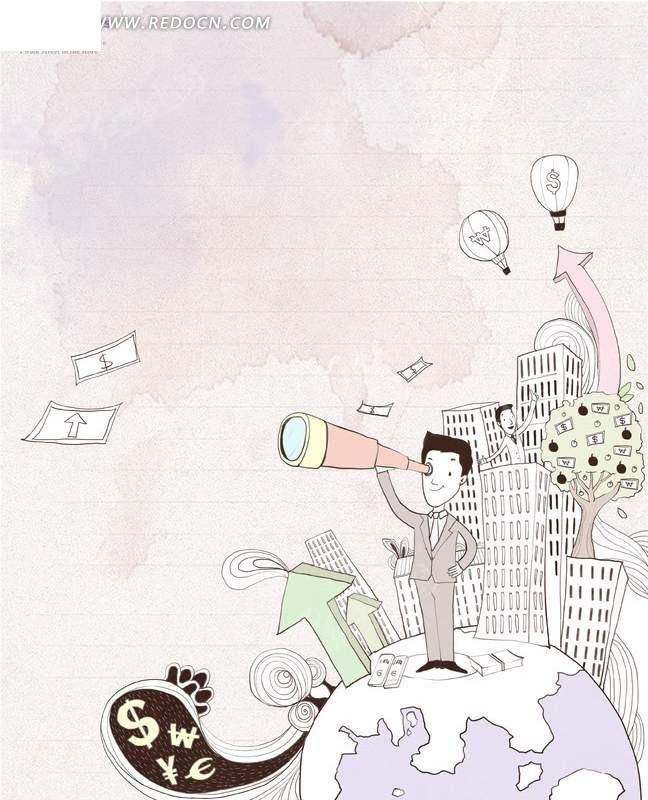 铅笔淡彩淡彩铅笔画手绘画卡通; 漂亮的房子卡通图片; 卡通跃水海豚简