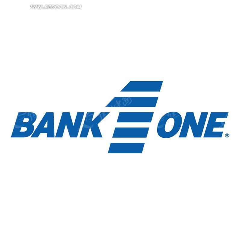 one标志设计 金融业 企业标志 logo vi eps 矢量素材  免费下载 标志