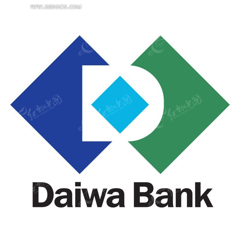 大和银行daiwa bank标志设计