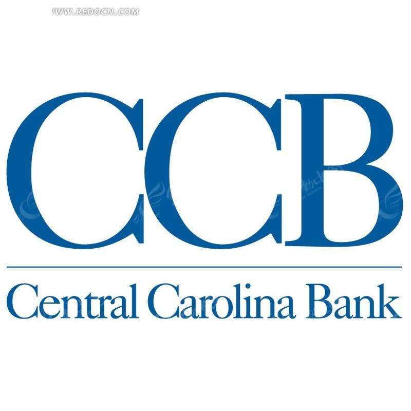 中央卡罗莱纳州银行ccb central carolina bank标志设计