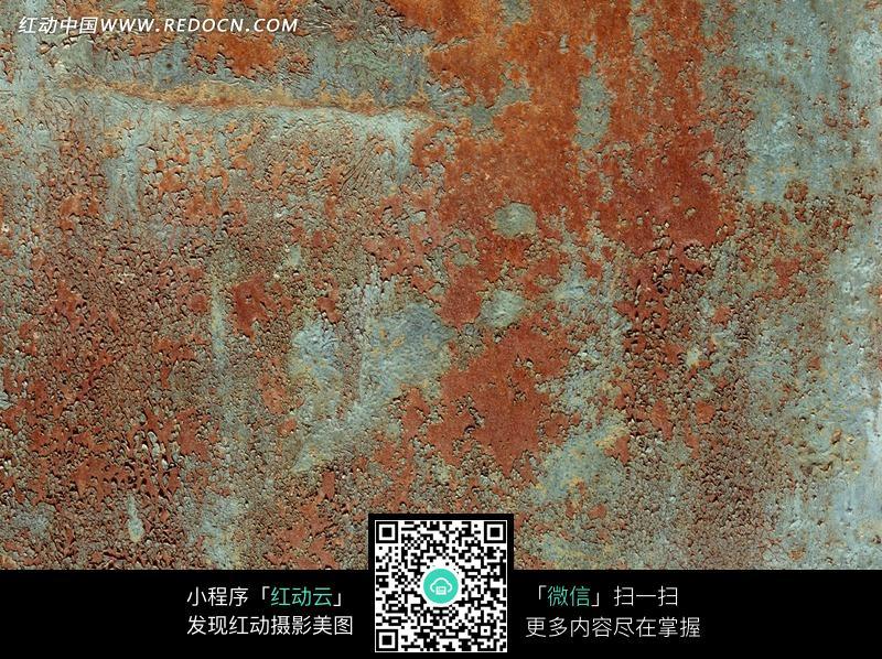蓝底褐色透迹材质背景图片免费下载 红动网图片