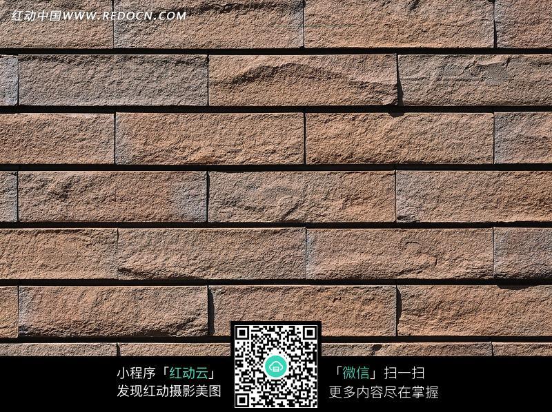长条砖块装饰墙图片