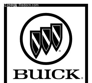 Buick 白底 黑字 矢量标志设计矢量图EPS免费下载 行业标志素材 -