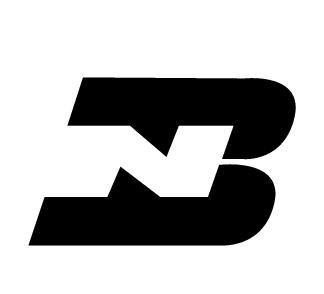 NB黑白标志logo设计矢量图EPS免费下载 行业标志素材