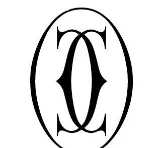 cc白底黑字标志设计