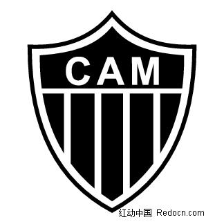 cam 黑底白字 标志logo设计图片
