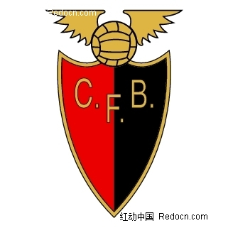C.F.B.足球俱乐部标志LOGO设计矢量图图片