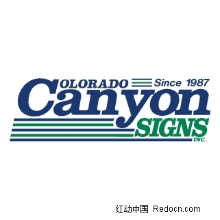 colorado canyon signs,inc标志logo设计图片