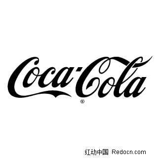 coca-cola 矢量标志设计图片